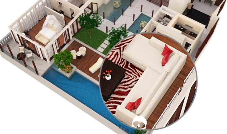 visrez we bring spaces to life new 3d floorplan zoom order