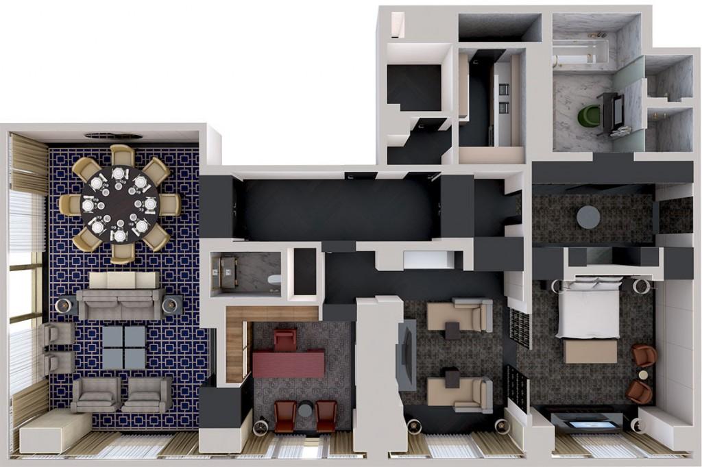 Conrad Pezula 3D Floorplan